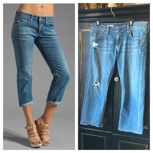 AG Adriano Goldschmied the tomboy crop jeans